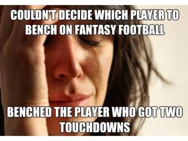 fantasy football tears