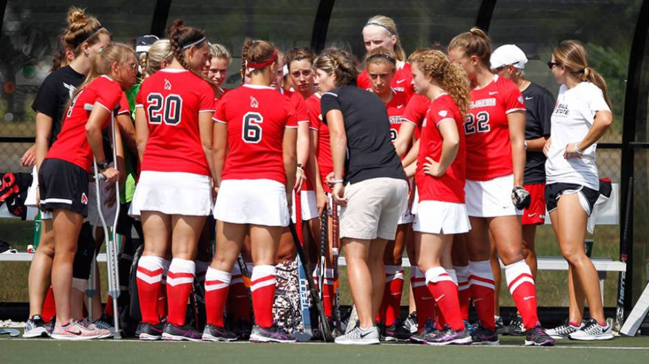 Ball State field hockey hosts No. 16 Iowa on ESPN 3.