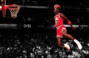 Michael Jordan's Iconic Dunk