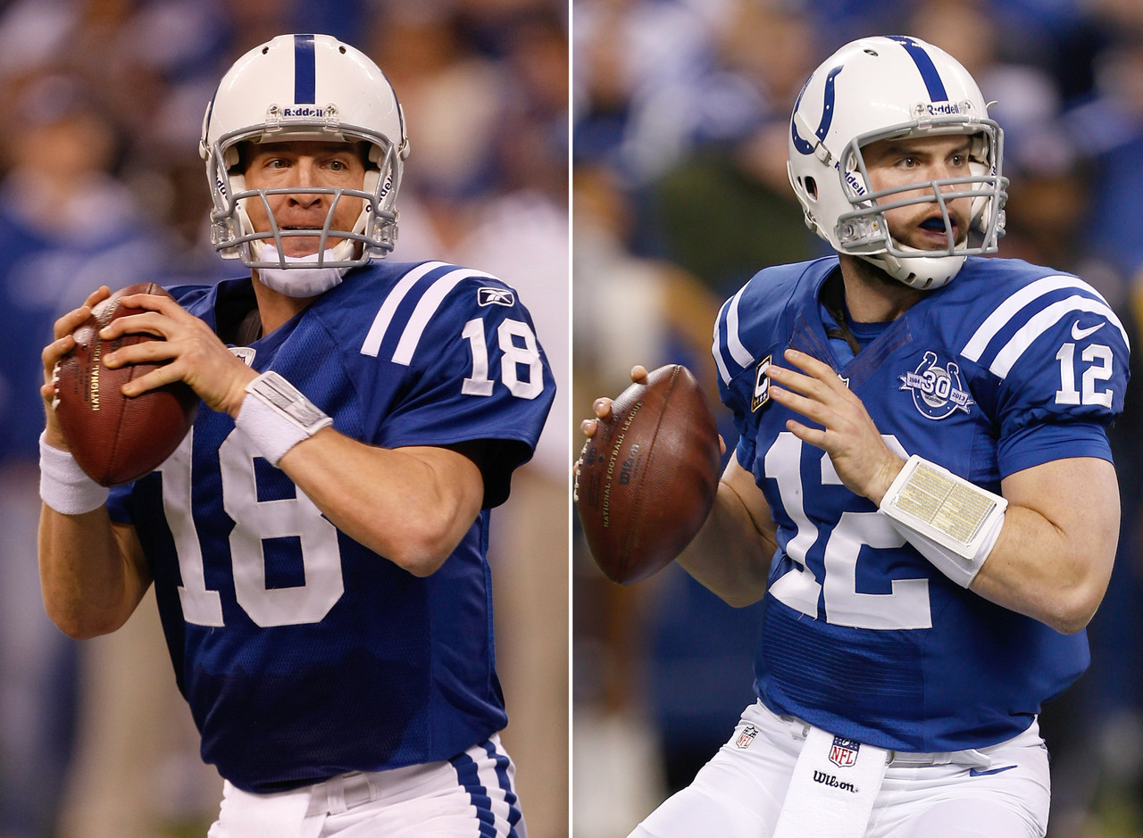 Andrew Luck The Man in the Middle … of John Elway and Peyton