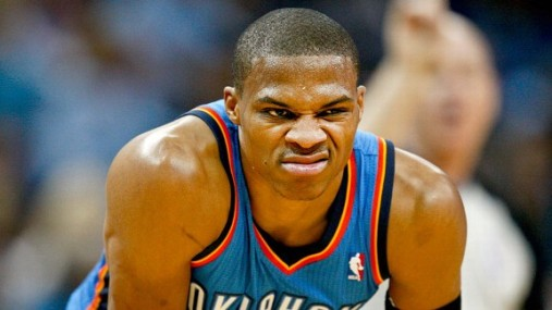 westbrook stank face