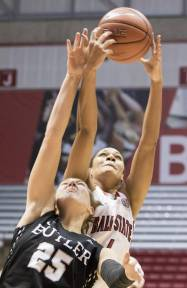 Fontaine grabs rebound over Butler defender