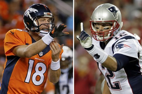 Peyton and Brady