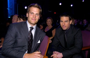 Tom Brady and Tom Cruise. ESPY's 2004. American Royalty